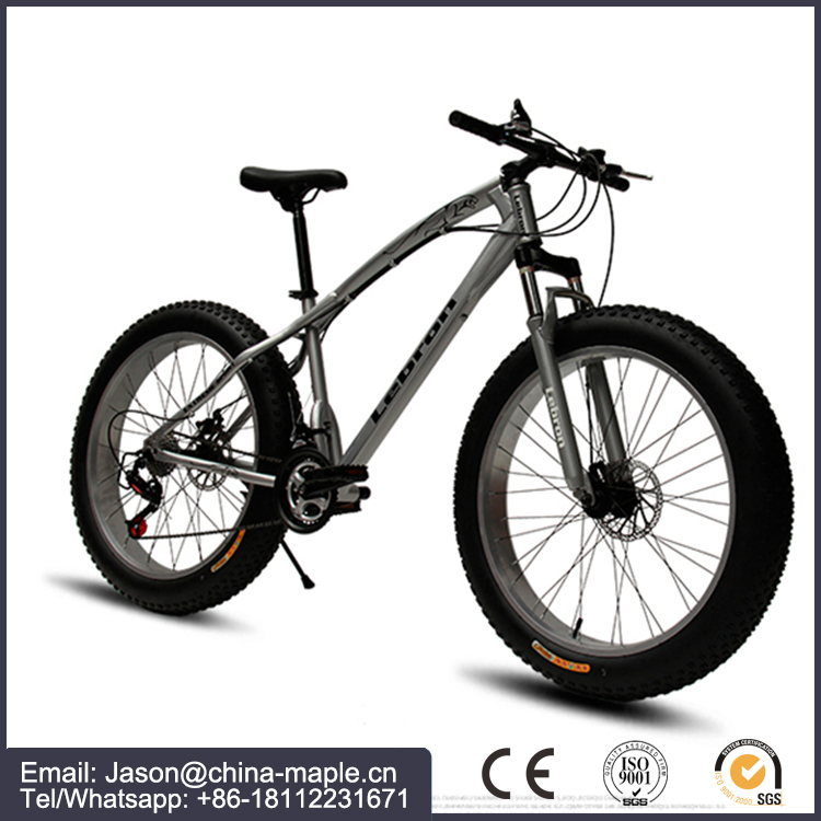 "Fat Bikes Canada USA fat bike snow mountain bike 7/21/24/27 Speeds 26"" Snow Bicycle 4cm Width Tire Full"