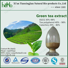 20% - 80% green tea extract catechins
