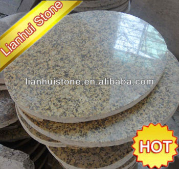 Charming Pre Cut Round Granite Table Tops For Sale