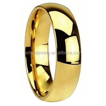 2mm 14mm Einfache Gold Hochzeit Ringe Ohne Steine Für Männer Und Frauen Buy Gold Ringe Ohne Steinegold Ringe Schmuckeinfachen Goldring Designs