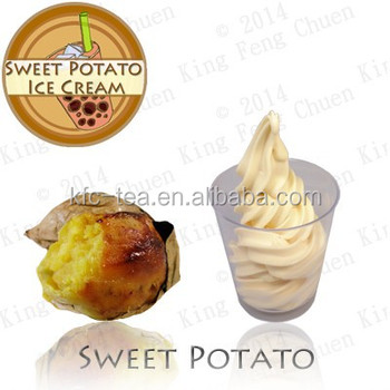 Sweet Potato Soft Serve Ice Cream Powder