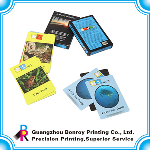Printing all kinds custom popular paper playing game cards