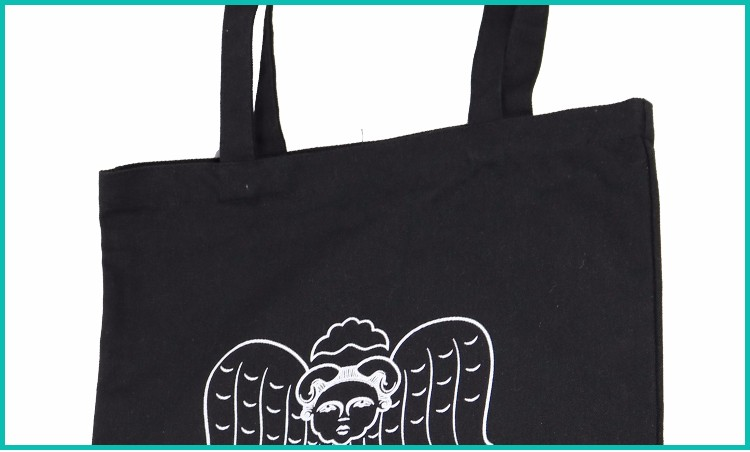 Factory Promotional standard size cotton tote canvas bag