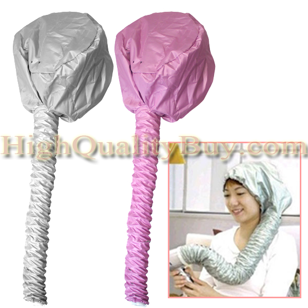 New Safety Soft Hood Bonnet Attachment for any Hair Dryer Haircare Hairdressing Home