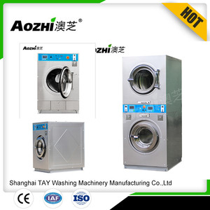 Aozhi coin operated washing machine and dryer coin washer and dryer price