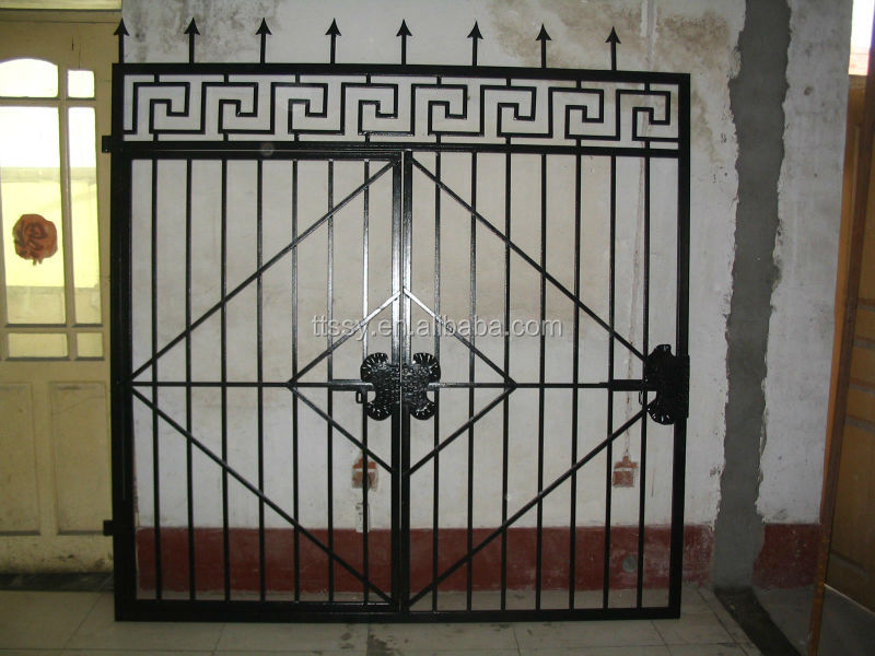 Aluminum House Gate Designs / Wrought Iron Gate Models / Forged ...