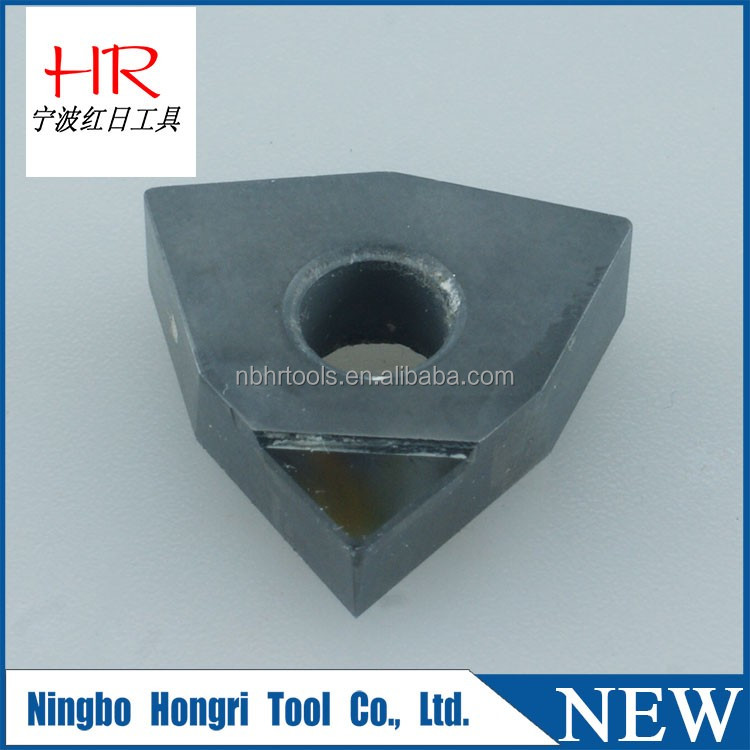 High work efficiency and facilitate fast clamping diamond insert