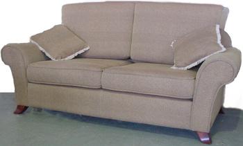 Modern Living Room Fabric Design Hemp Sofa