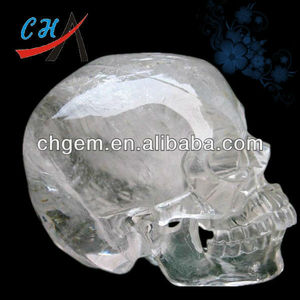 2-6inches Natural Stone Carving la Calavera de Cristal