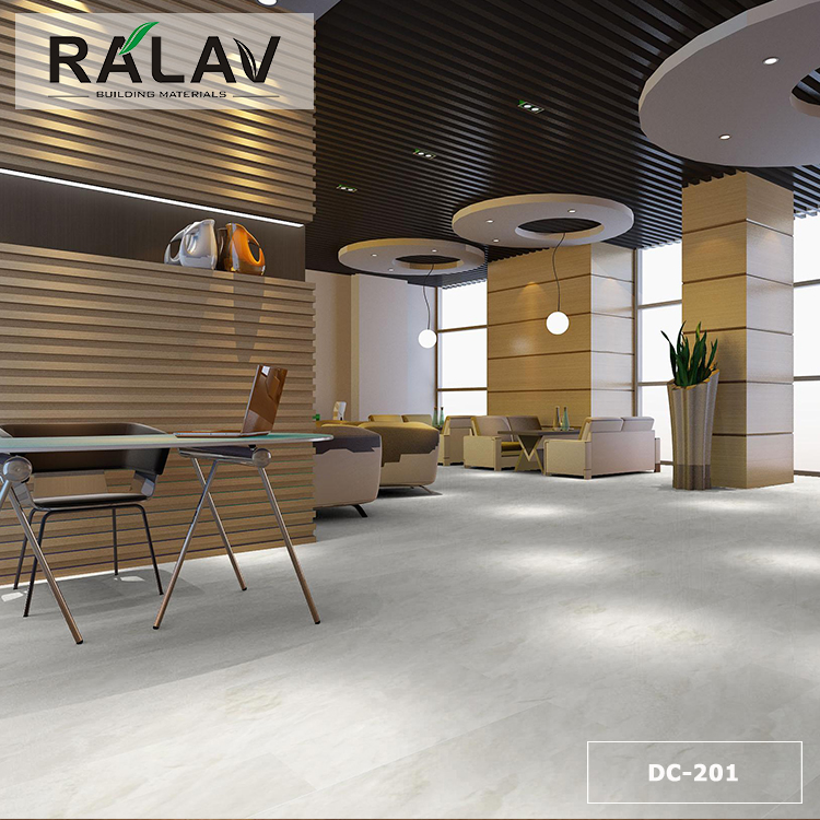 Ralav Brand Easy Installation Interlocking Floor Tiles Vinyl Plank