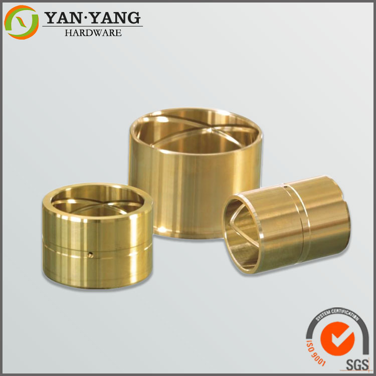 Customized brass bushing for electric motor part
