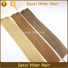 Natural Looking High Grade Italian Human Hair Tape Hair