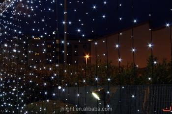 Led Solar Ed Starry Net Lights Warm White Le Lighting For Christmas