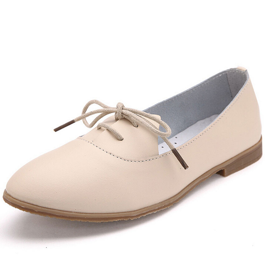 New Designer Genuine Leather vintage women oxford shoes 2015 fashion pointed toe british style women flats oxford shoes size 40