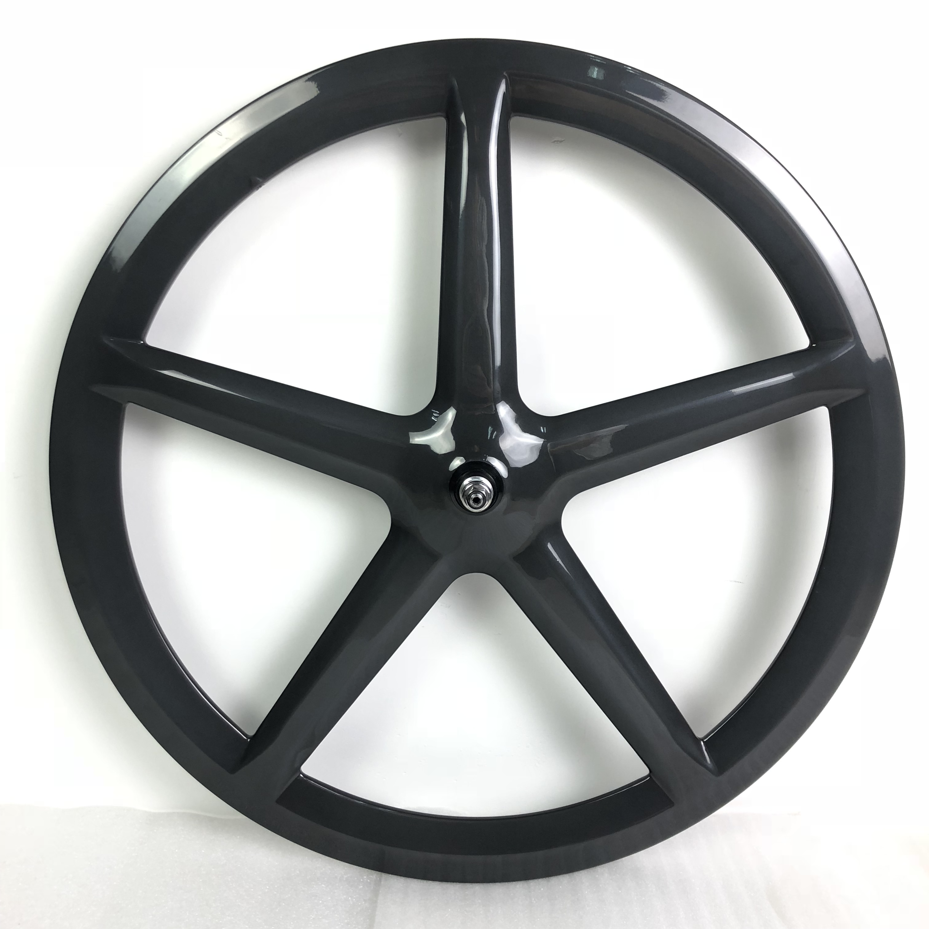 purchase in china for particular with hongfu carbon 5 spoke track bike bicycle wheel HF-FR005-F/R