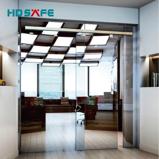 Aluminium Profile Glass Doors Internal Sliding For