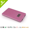 5000mah mobile power bank with lcd display