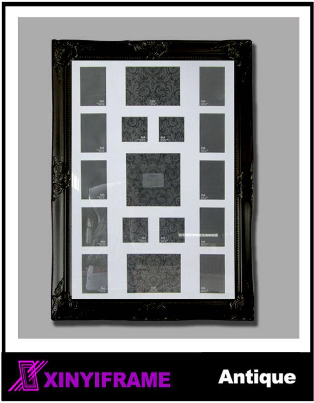 grande taille en bois multiples cadre photo cadre id de. Black Bedroom Furniture Sets. Home Design Ideas