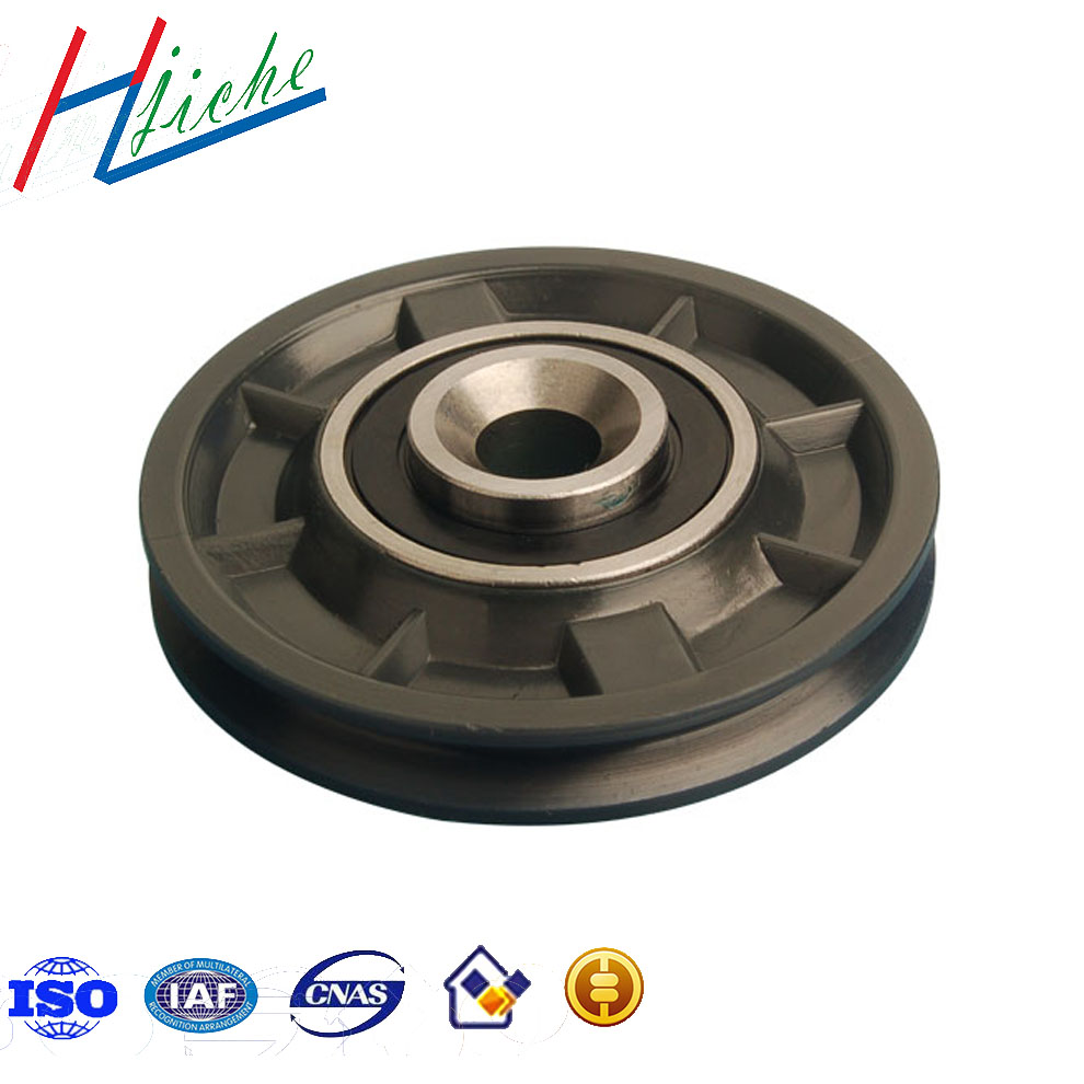 Custom made casting and forging machinery spare parts heavy duty caster wheel
