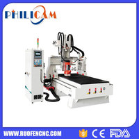 disc atc cnc router kitchen cabinet door carving machine