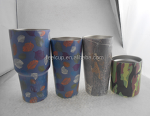 Wholesale in China air transfer printing 30 oz stainless steel vacuum insulated tumbler stainless steel tumbler