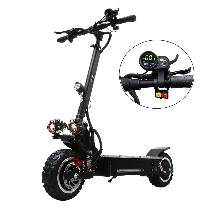 VICSOUND Professional Electric Scooter 11inch 3200W 60V With Seat For Adults With Low Price