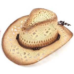 6b7c6ad29 The Latest 2018 Men Lala Grass Painted Plain Wholesale Cowboy Hat