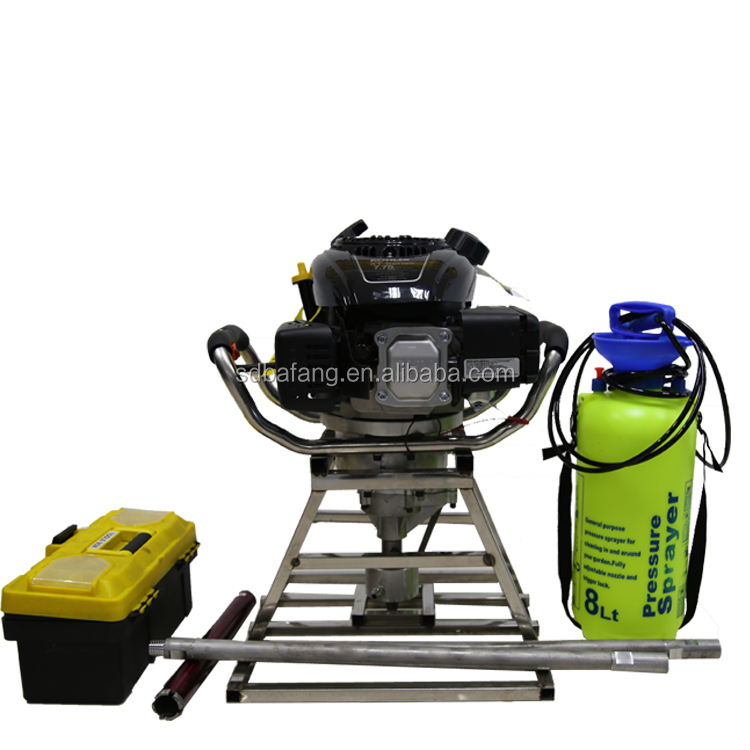Portable sampling drill for geological exploration backpack drill rig
