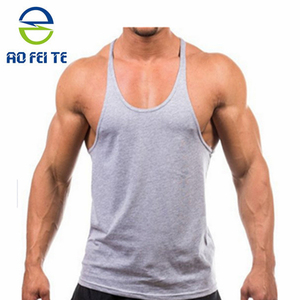 2017 wholesale men tank top adults singlet stringer vest gym