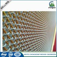 High quality metal drapery curtain mesh fabric