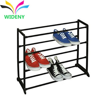 Multi-tiers custom design iron wire electroplating shoes display rack