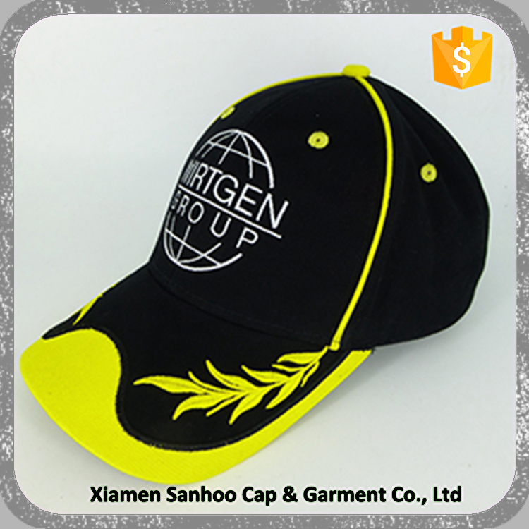 100% Cotton Wool Fabric Sport Cap Your Own Logo