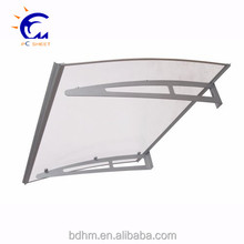 DIY door awning/Window Door Sun Shade Canopy PC Clear Hollow Sheet Awning Polycarbonate