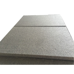 Popular construction grey granite flamed stone tiles G684