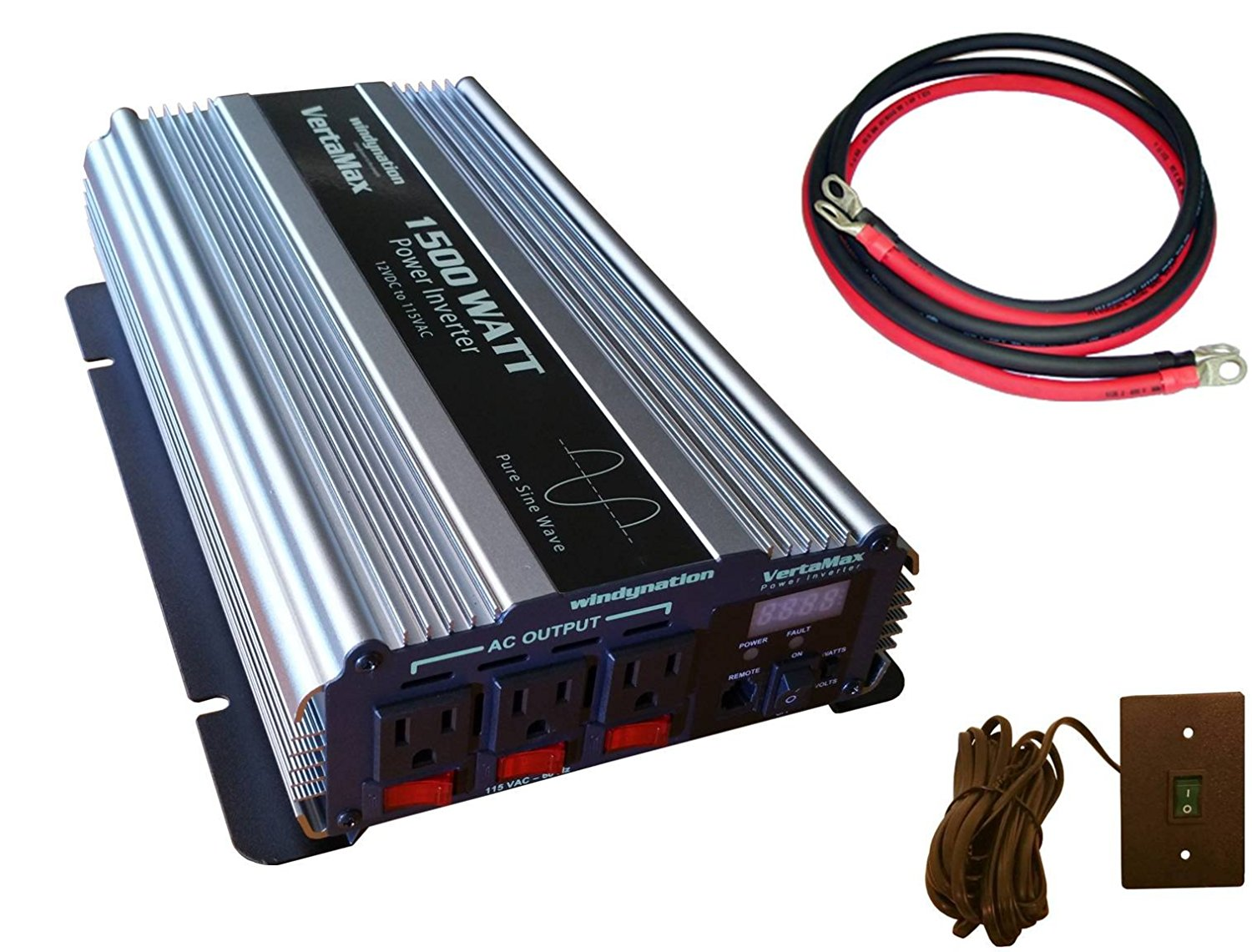 Cheap Rv Pure Sine Wave Inverter Find Design With Code Report Get Quotations Vertamax 1500 Watt 3000w Surge 12v Power Dc To Ac