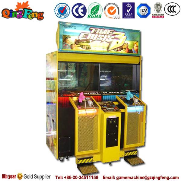 Qingfeng Arcade Shooting Gun Machine Time Crisis 3 Arcade ...