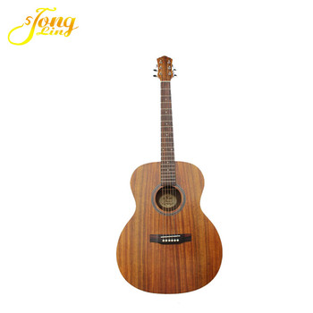 "TL-0033 Best Selling Reasonable Price 40"" 41"" solid wood colour acoustic guitar"