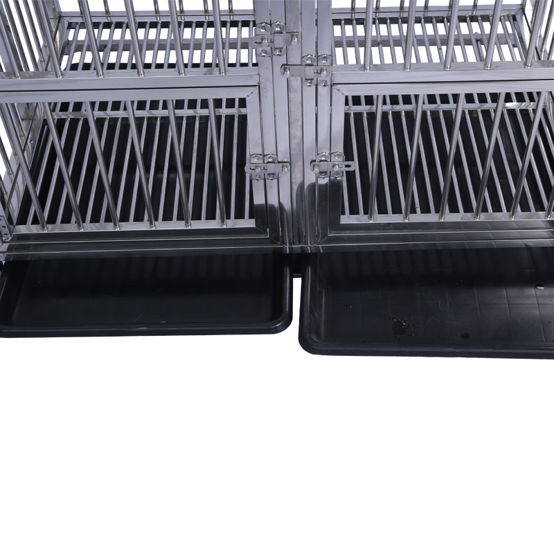 Wholesale Stainless Steel Material Large Dog Cages pet Crates