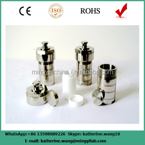 Most popular hydrothermal autoclave reactor with teflon chamber 100ml