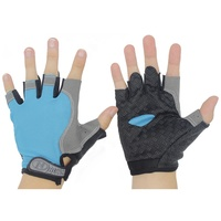 Wholesale Outdoor Running Bike Riding Training Weight Lifting Gym Sports Racing Fitness Fingerless Cycling Gloves