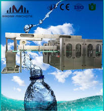 Automatic PET Bottle Water Filling Machine Production Line RO Drinking Water Treatment Plant