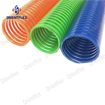 pvc water pump clear corrugated 1.25 1.5 suction hose kit india