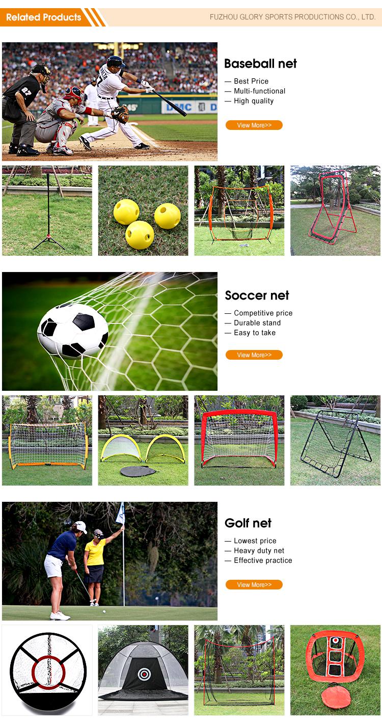 Hot Selling 6*4 Feet Folding Practice Soccer Goal Net