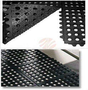 Holes Gr Drainage Rubber Floor Mat