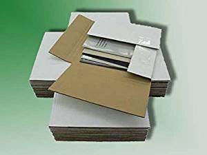 100 Variable Depth 45 RPM Record Album Mailer Boxes
