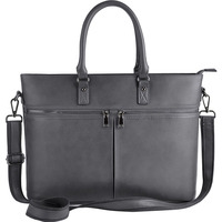 Alibaba China Wholesale PU Leather Ladies Women Tote Laptop Bag