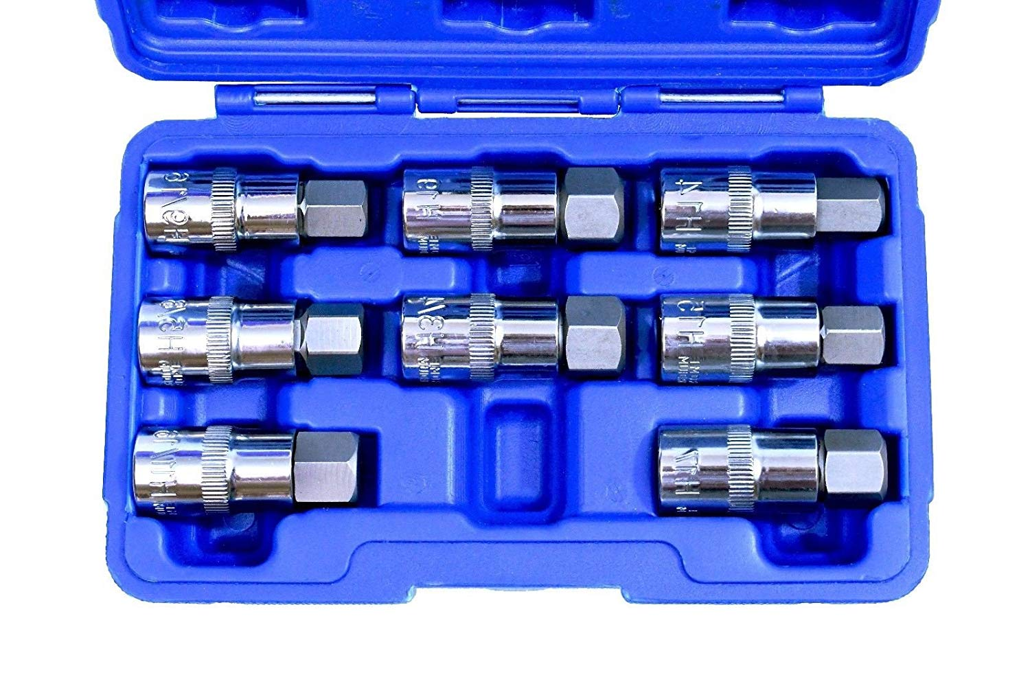 "1/2"" Drive Jumbo Hex Bit Sockets 