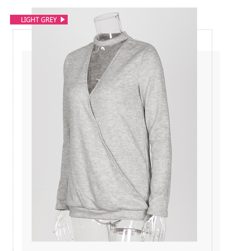 Newly Cotton Sexy Reversible V Neck Sweater