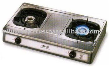 MILUX STAINLESS TABLE TOP STOVE