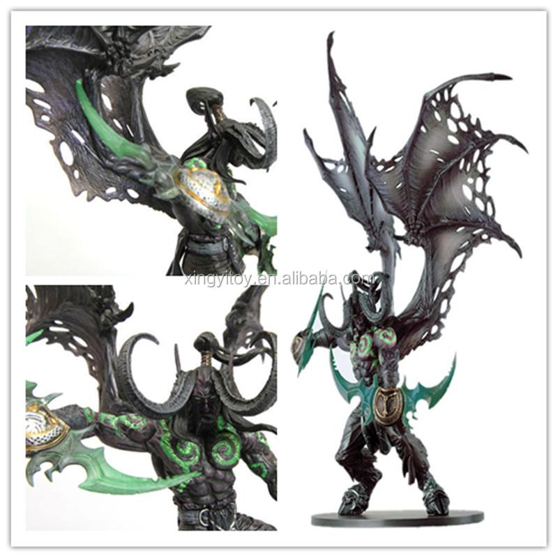 dc wow world of warcraft illidan stormrage form iblis